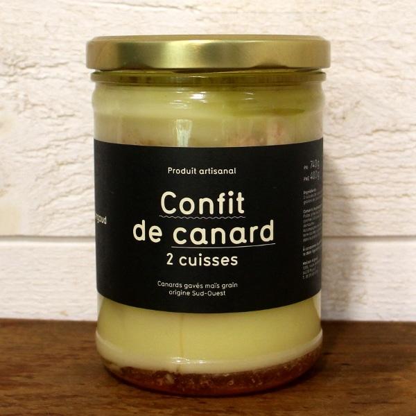 Confit canard aubonfromage.re