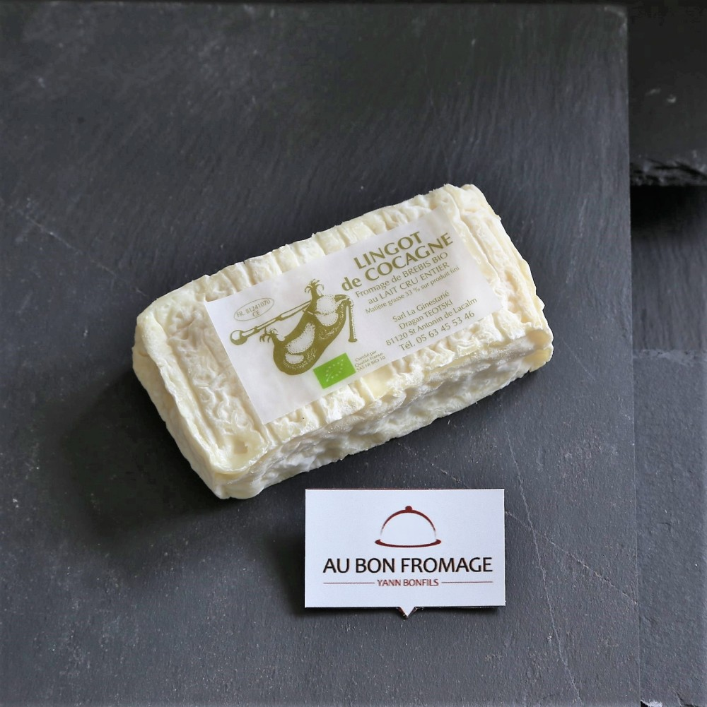 Lingot de Cocagne aubonfromage.re Yann Bonfils Réunion