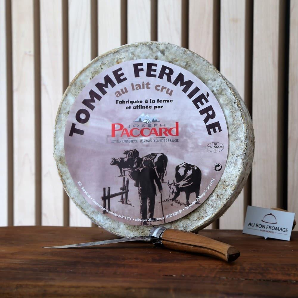 Tomme Fermiere aubonfromage.re Yann Bonfils Réunion