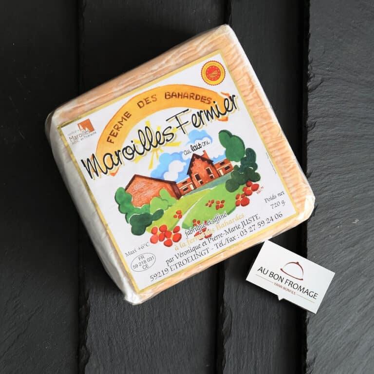 Maroilles fermier aubonfromage.re Yann Bonfils Réunion